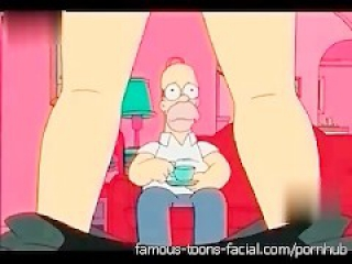 ToonFanClub - Simpsons Sex Video