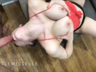 Horny Bitch Squirts All Over Thick Cock LittleMissElle FREE