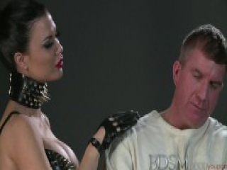 BDSM XXX Disobedient subs learn Doms rules from anal fucking
