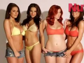 Lacey Banghard, Lucy Pinder, Lucy Collet and Stacey Poole