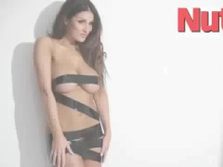 Lucy Pinder taped up