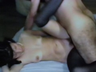 AndreaSex enjoying sex with lover boy while film Cuckold happy.