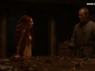 Carice van Houten - Topless Perky Boobs, Sex Scenes - Game of Thrones s02