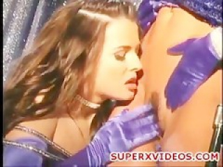 Young lesbians play with dildos oral sex