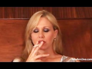 Beautiful MILF Smoking