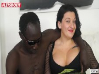 LETSDOEIT - Italian MILF gets Nailed Hardcore in her First Porn by BBC