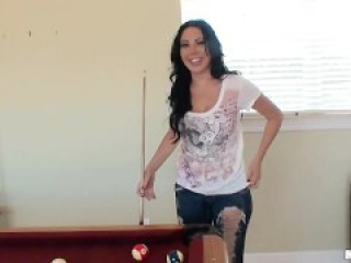 Megan Foxx fucked hard on the pool table