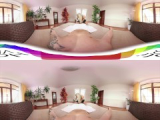 [HOLIVR 360 VR Porn] Hot Milking Massage, Blonde Loves Sucking My Dick