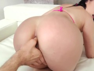Kristina gets hard sex in butt