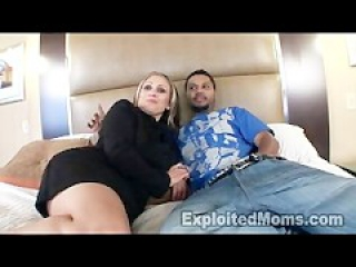 Mature Latina in Interracial Amateur Video