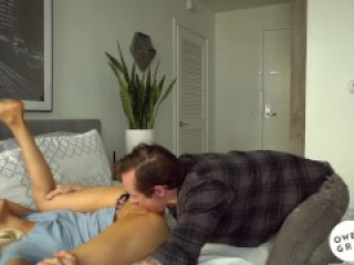 Elsa Jean cums on thick cock in intense and intimate sex tape
