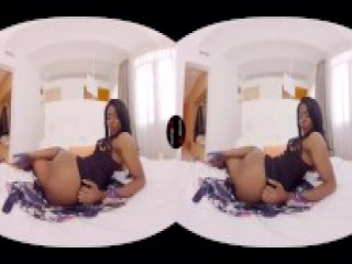 VirtualRealPorn.com - Ebony webcam
